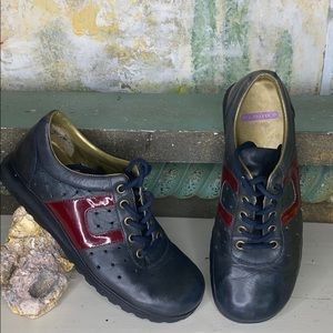 Nine West cloud leather oxford loafer